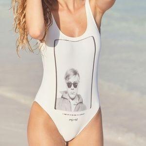 Billabong X Warhol One-Piece Swimsuit